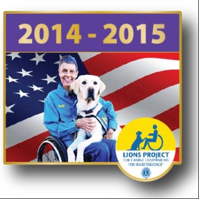 2014- 2015 President's Pin